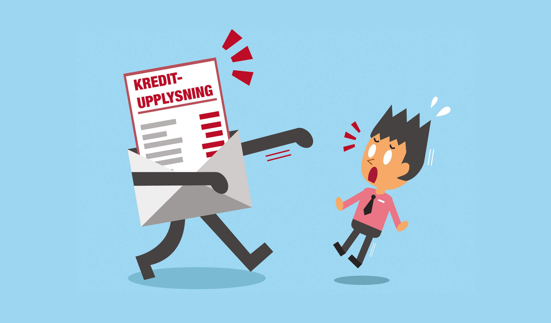 Därför borde du inte vara rädd för en kreditupplysning
